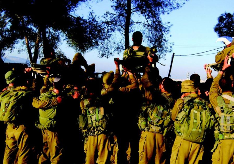 Soldats isolés de la brigade Golani