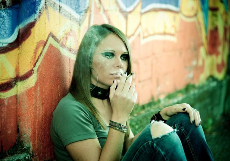 teen drug user