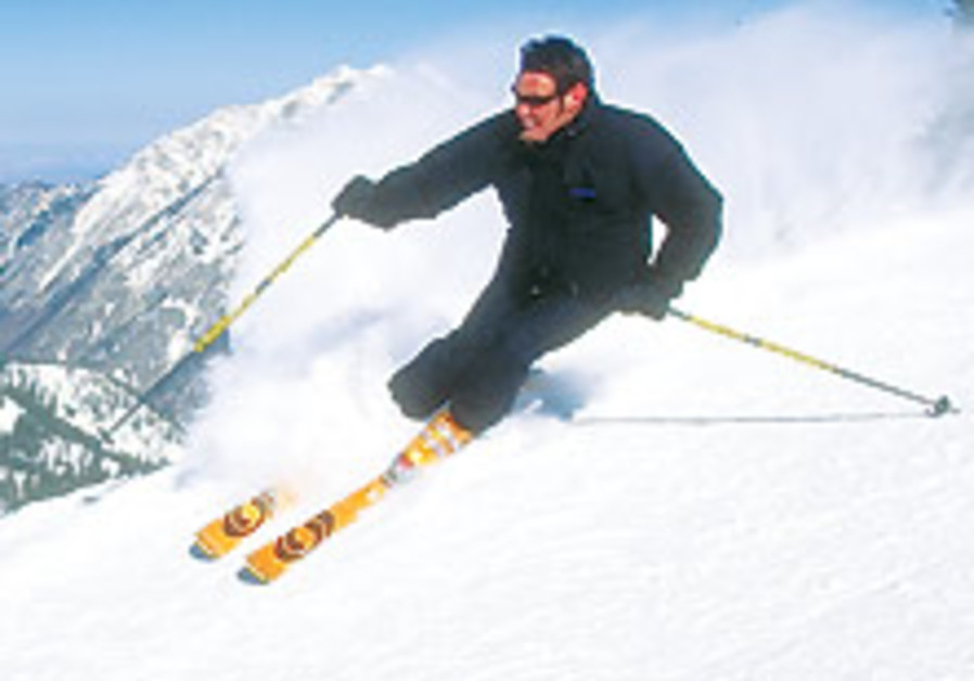 30,000 Israeli skiers to hit foreign slopes
