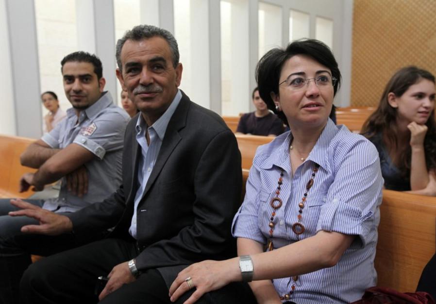 Haneen Zoabi and Jamal Zahalka
