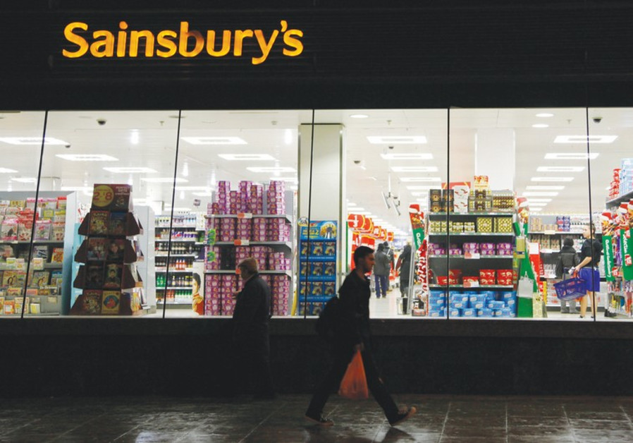 Sainsbury's store in south London.
