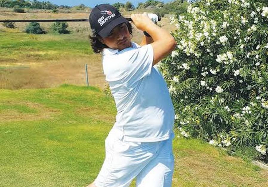 David Pachima, golf player