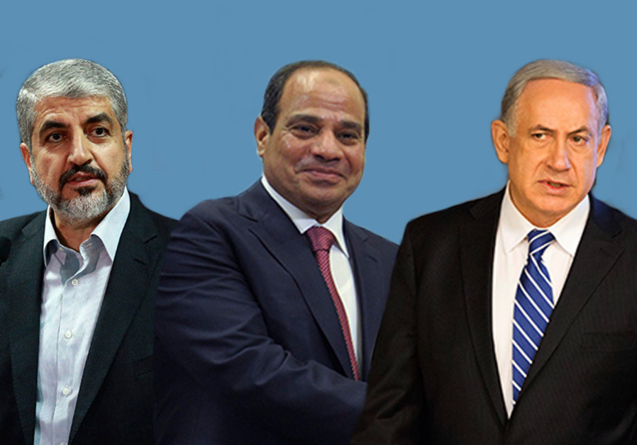 Sisi, Mashaal and Netanyahu