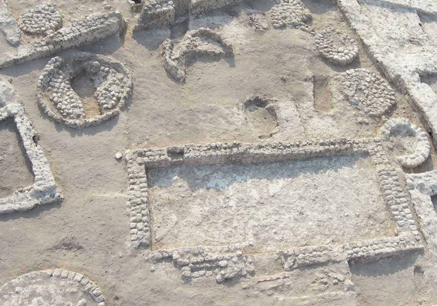 The Tel Tzaf excavation site