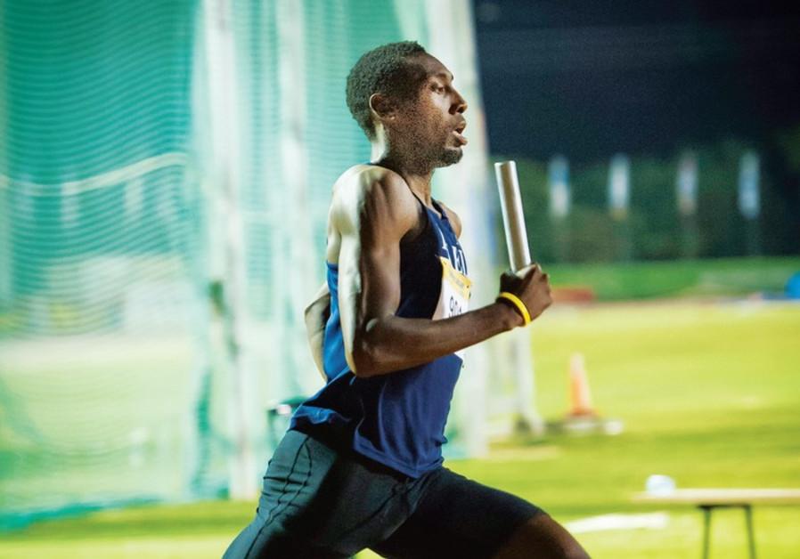 US-born track star Donald Sanford