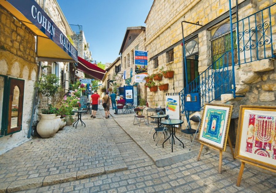 The artists colony in Safed