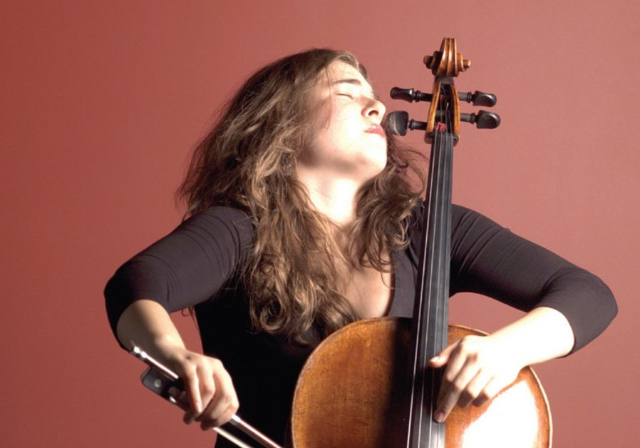 Cellist Alisa in the Jerusalem Chamber Music Festival