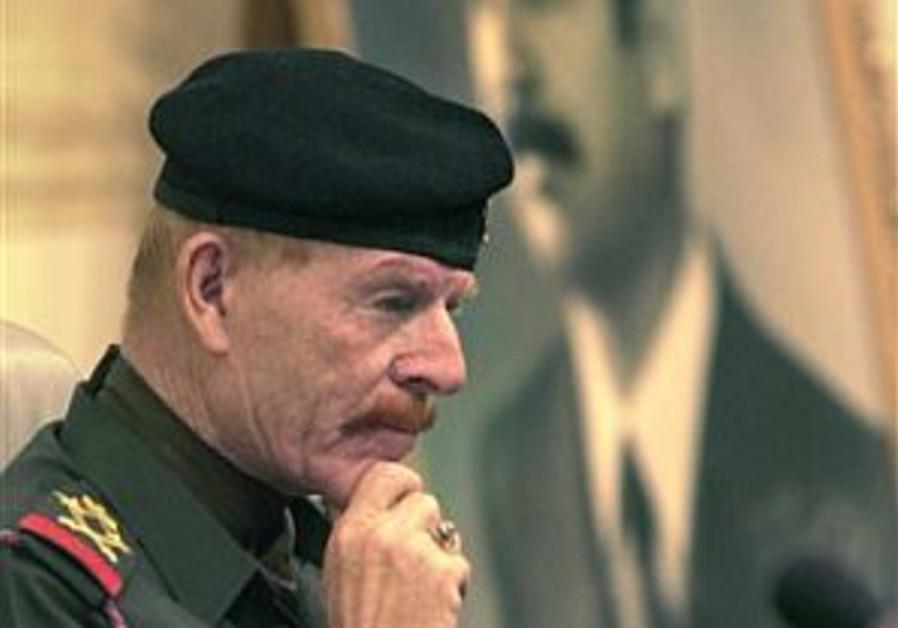 izzat ibrahim al-douri iraqi insurgent portrait
