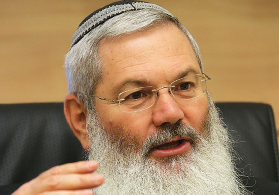 Deputy Defense Minister Eli Ben-Dahan (Photo credit: Marc Israel Sellem/The Jerusalem Post)