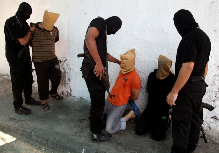 Hamas executions.