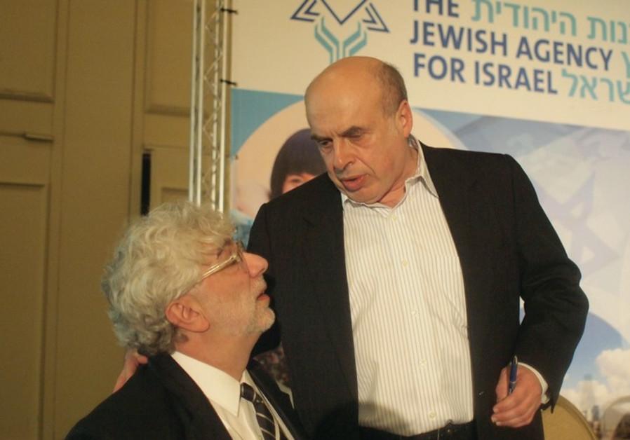 NATAN SHARANSKY and Misha Galperin.