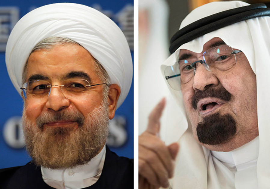 Rouhani and Abdullah