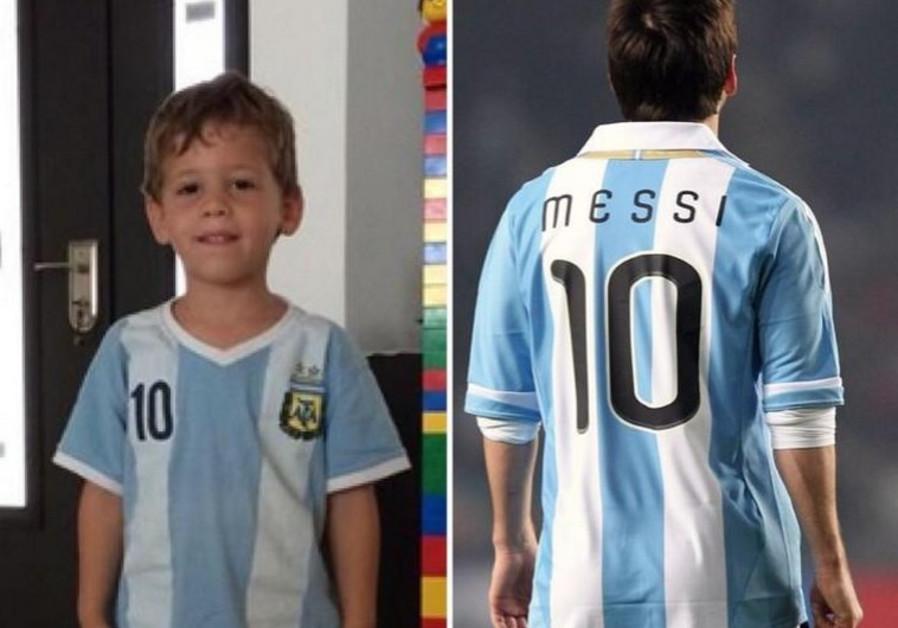 Daniel Tragerman, left, and Lio Messi.