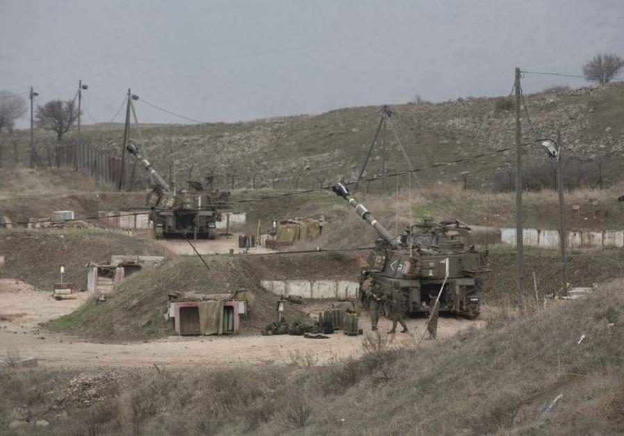 IDF troops near Kiryat Shmona.