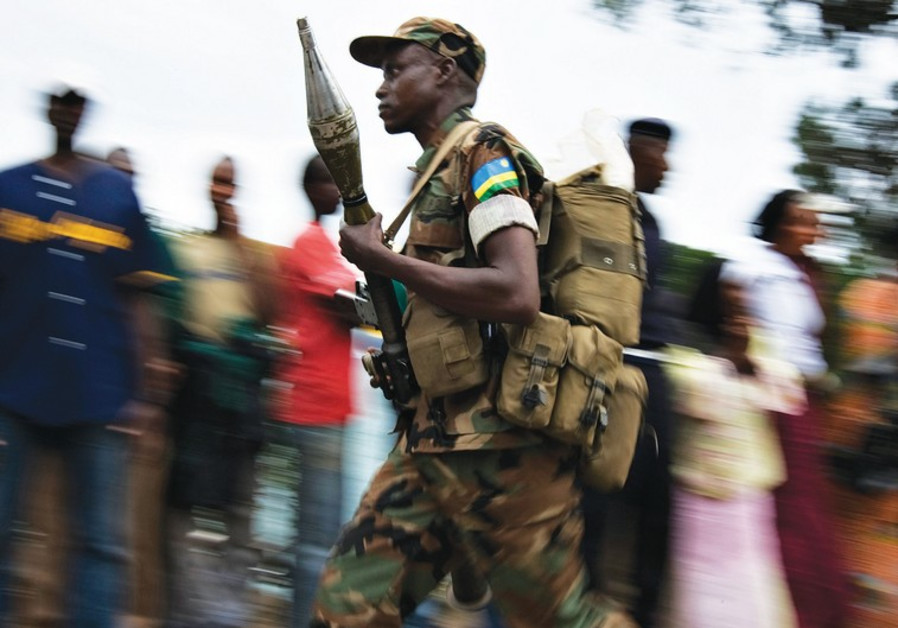 Rwandan soldier