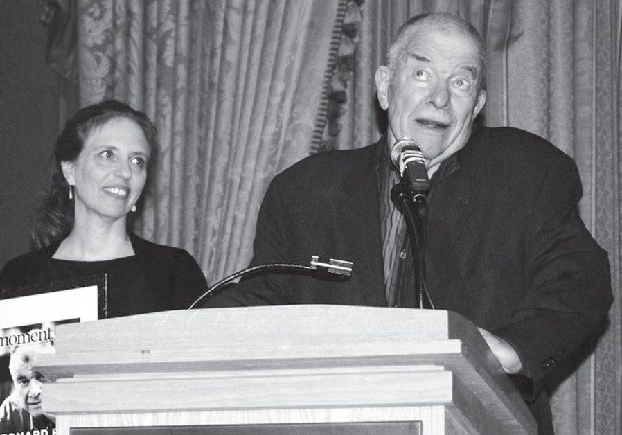 Leibel Fein and Nadine Epstein.