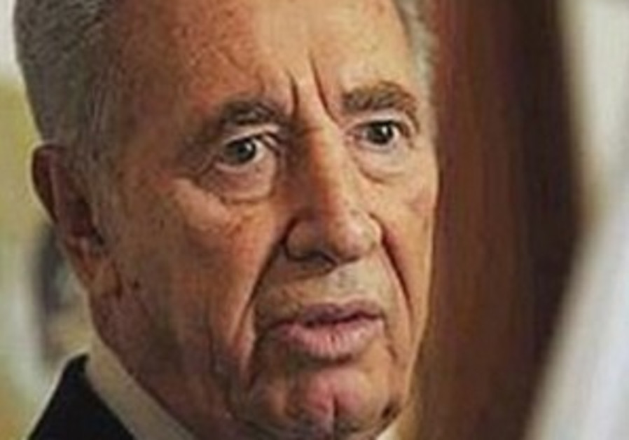 Peres: 'Proud that we are the arch-enemy of Nazi evil'