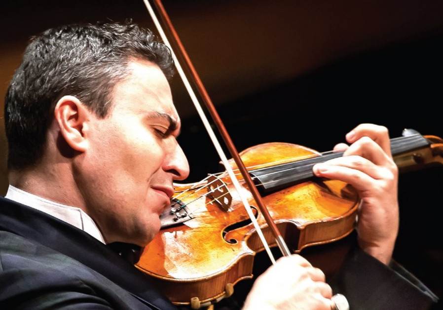 Violinist and conductor Maxim Vengerov festival in Israel