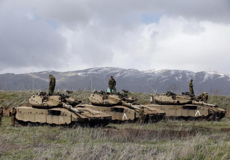 israel golan idf