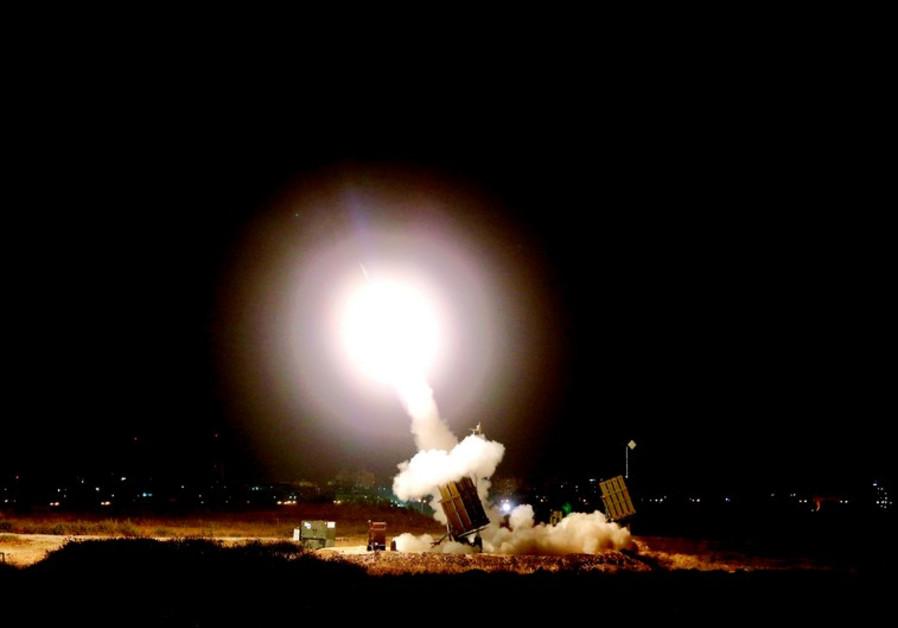 Le Dôme de Fer en action près d'Ashdod