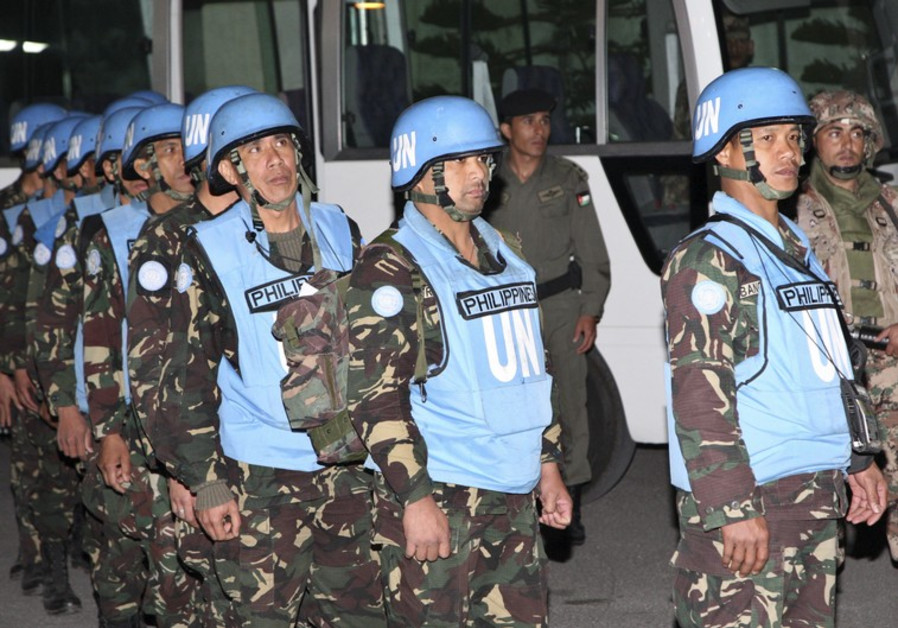 UNDOF peacekeepers