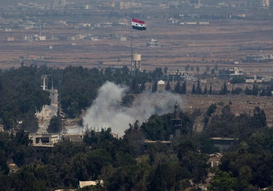 'Israeli' Airstrikes Hit East Syria Military Site, Scores Killed