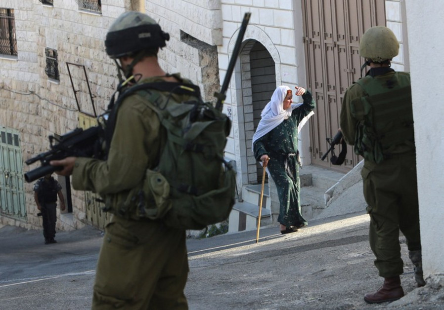 IDF soldiers in Nablus