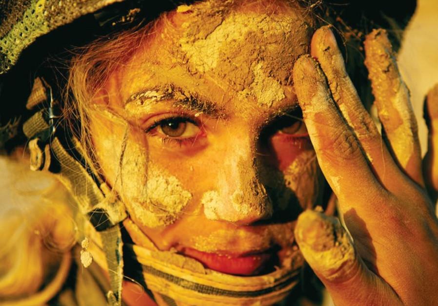 A female IDF soldier