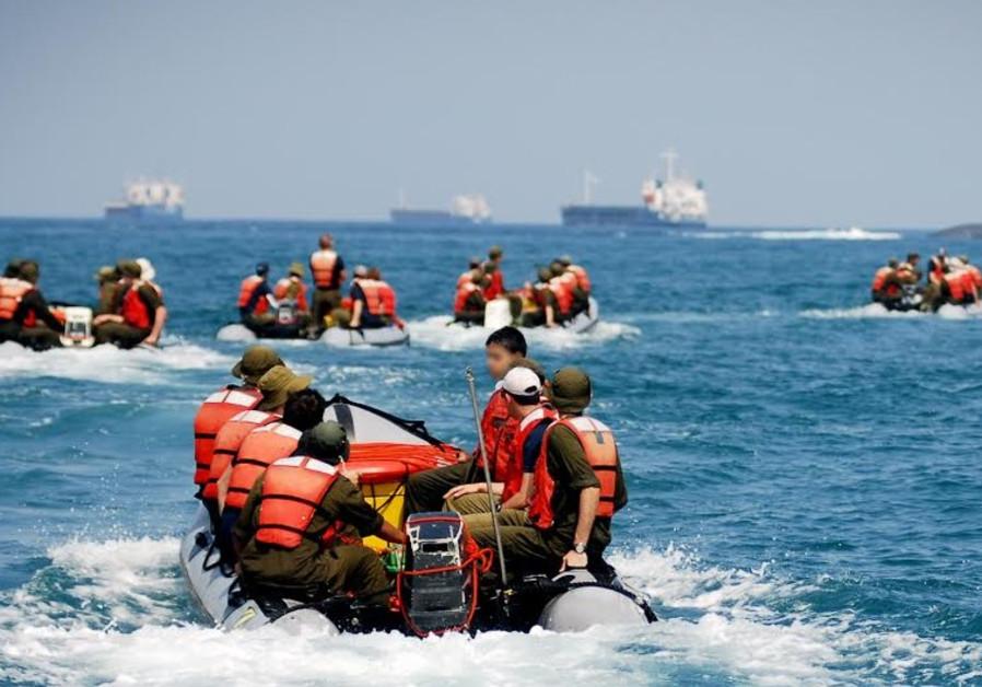 Israeli navy training