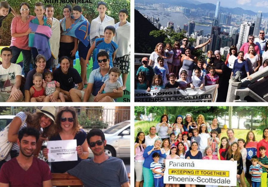 THE SHABBAT PROJECT partner hubs in Ra'anana, Hong Kong, Tel Aviv and Panama City.