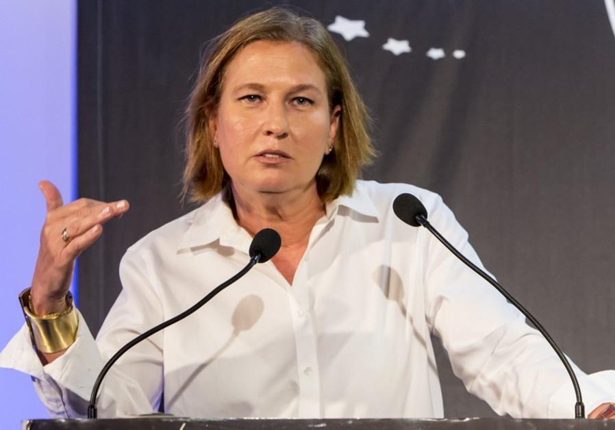 Tzipi Livni at ICT conference