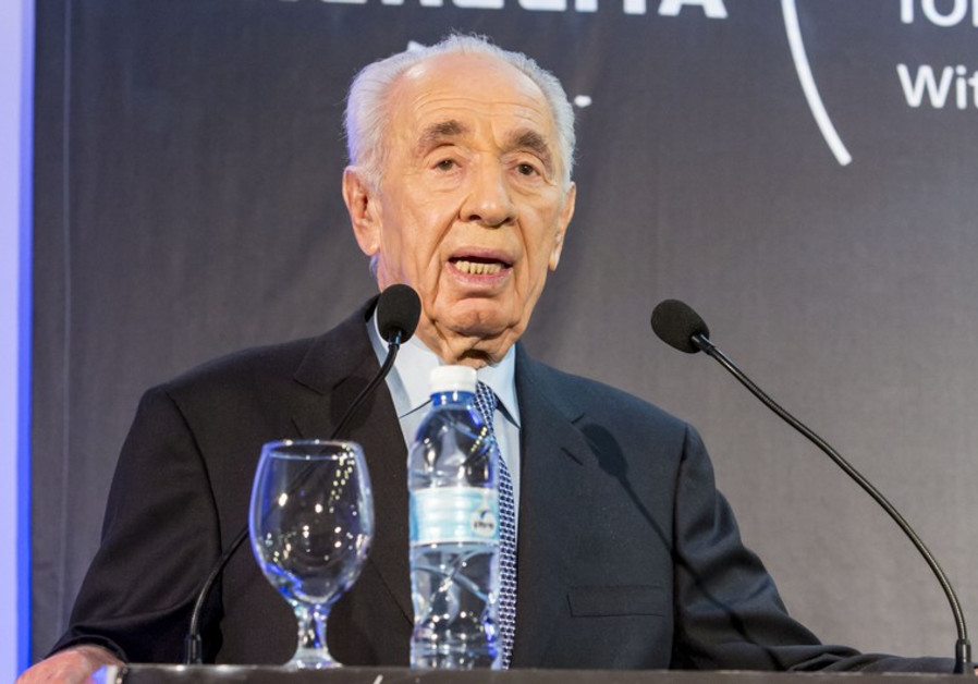 Shimon Peres at ICT conference