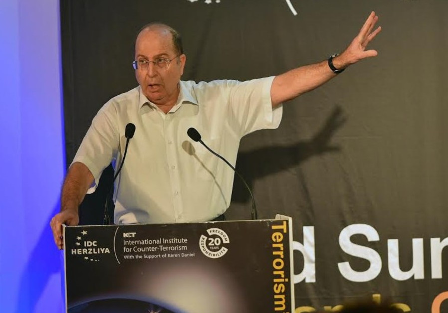 Defense Minister Moshe Ya'alon, September 8, 2014