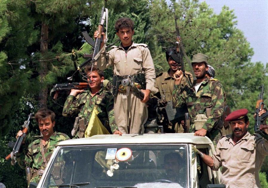 Iraqi kurdish Pashmarga