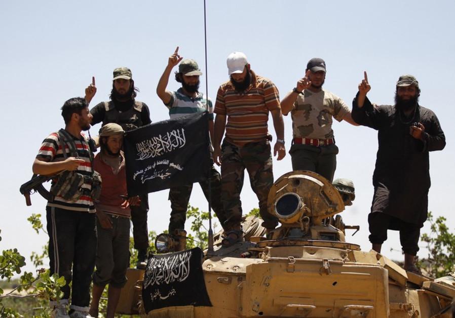 Jabhat Al-Nusra militants