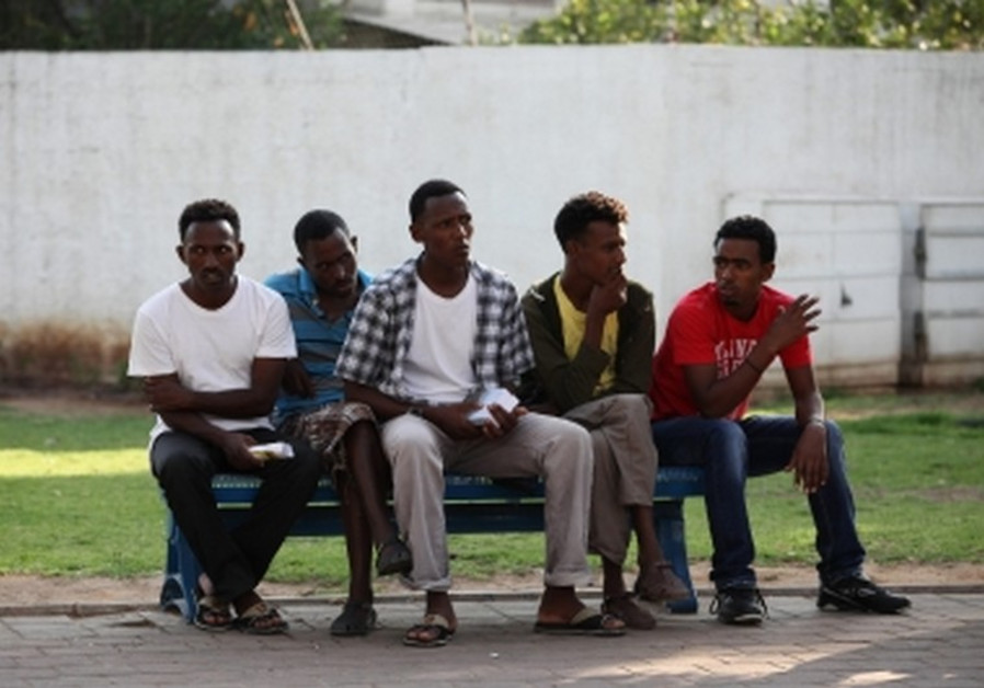 Eritrean migrants in Israel