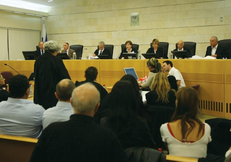 Judges preside in court