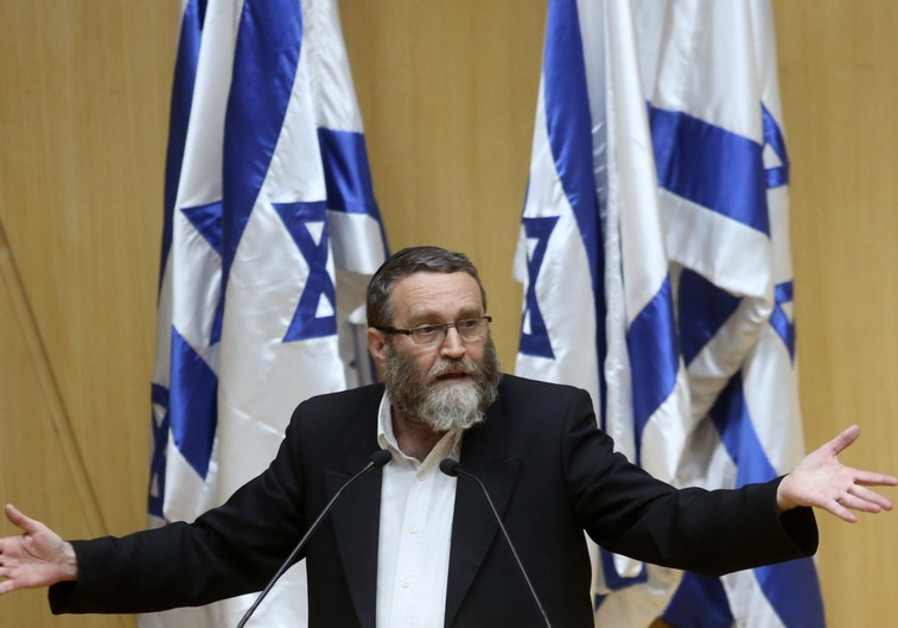 Ultra-Orthodox MK Gafni: 'these elections are war'