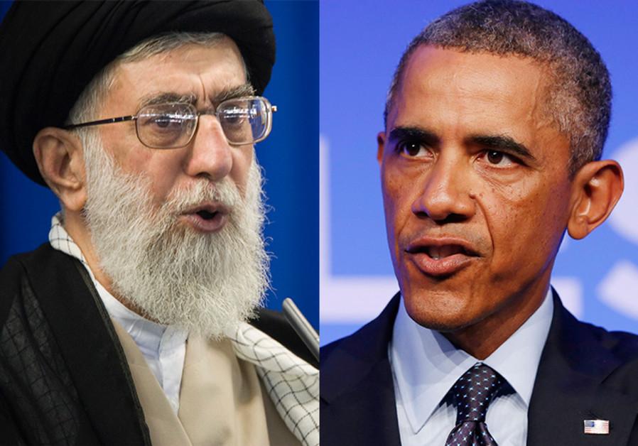 Obama and Khamenei