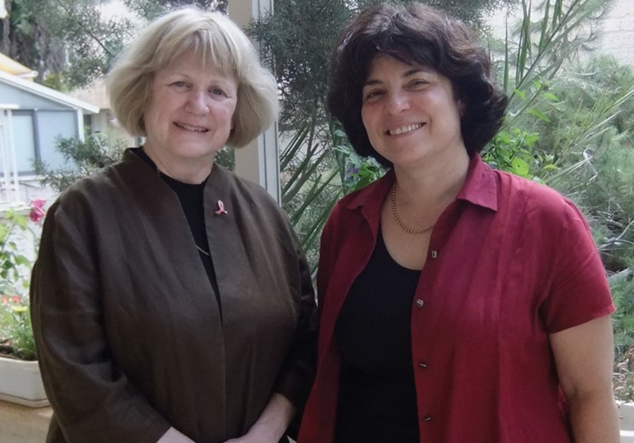 PROF. MARY-CLAIRE KING (left) and PROF. EPHRAT LEVY-LAHAD