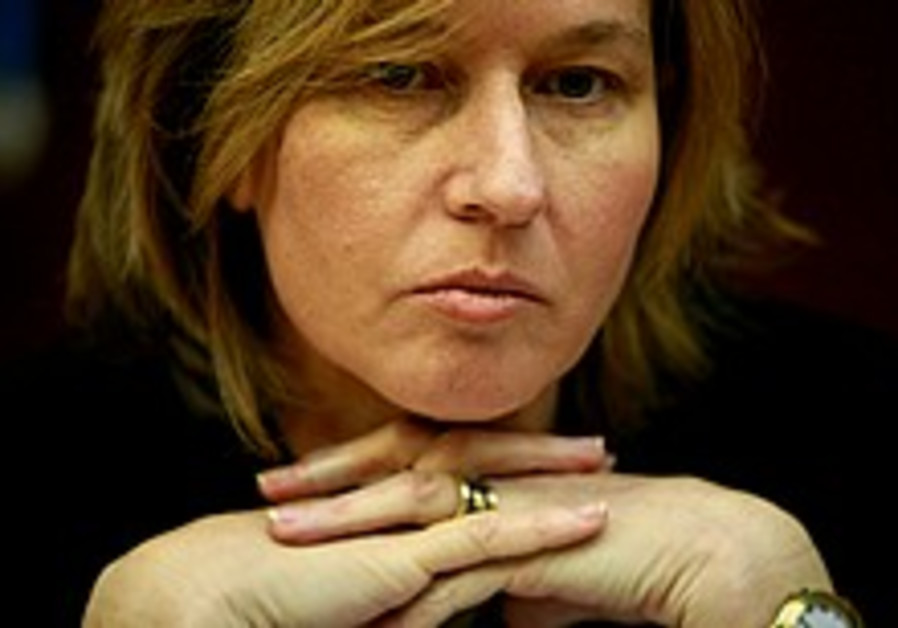 Prepare for elections, Livni tells Kadima