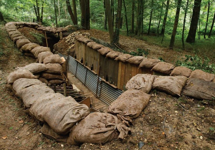 World War I trench