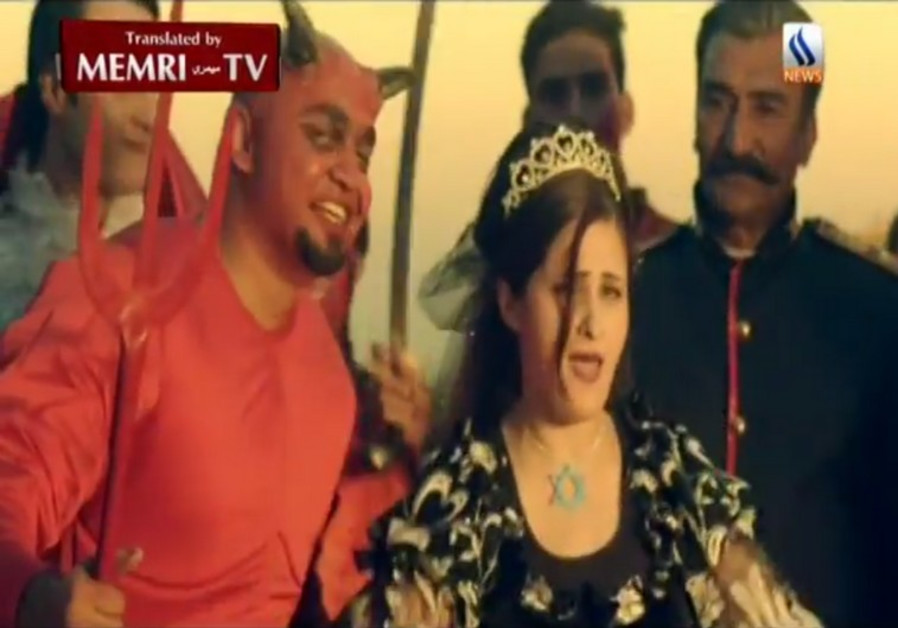 Satan and a Jewish Woman Give Birth to ISIS in an Iraqi TV Satire