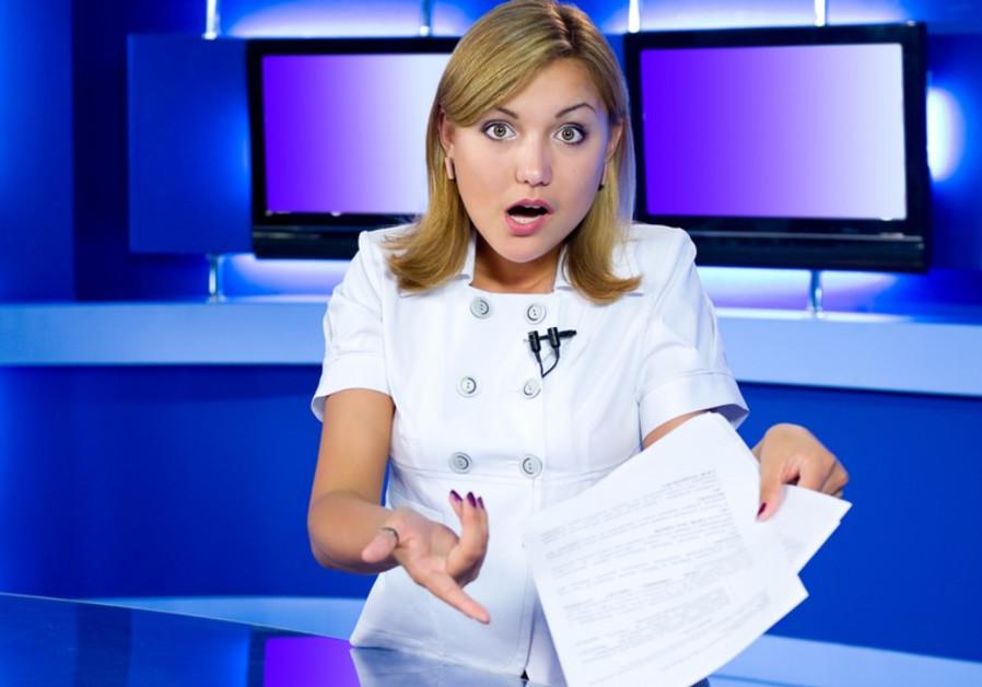 TV anchor (illustrative)