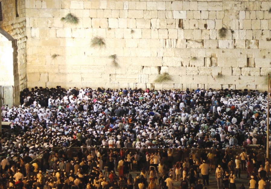 Slihot at the Western Wall