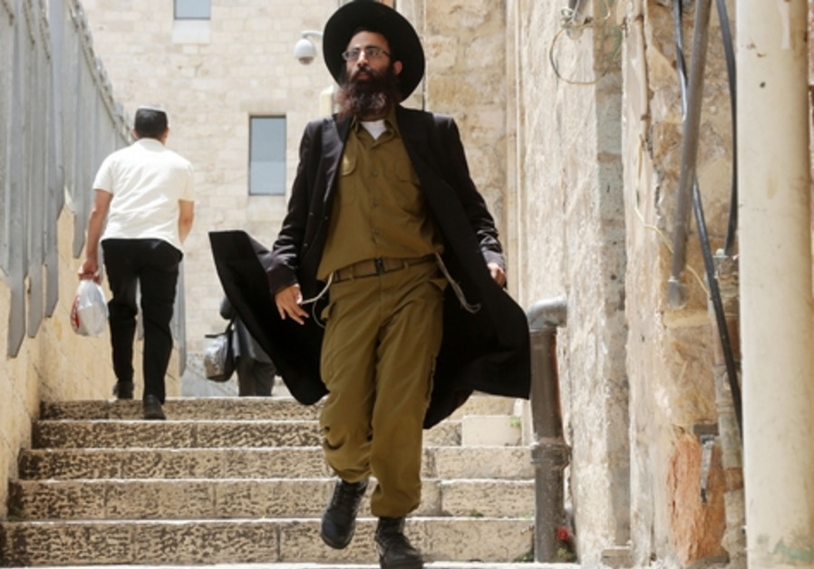 Haredi soldier
