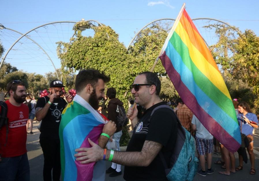 Gay parade in Jerusalem
