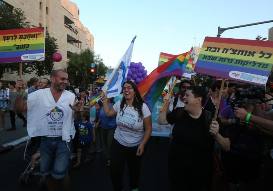 Gay parade in Jerusalem