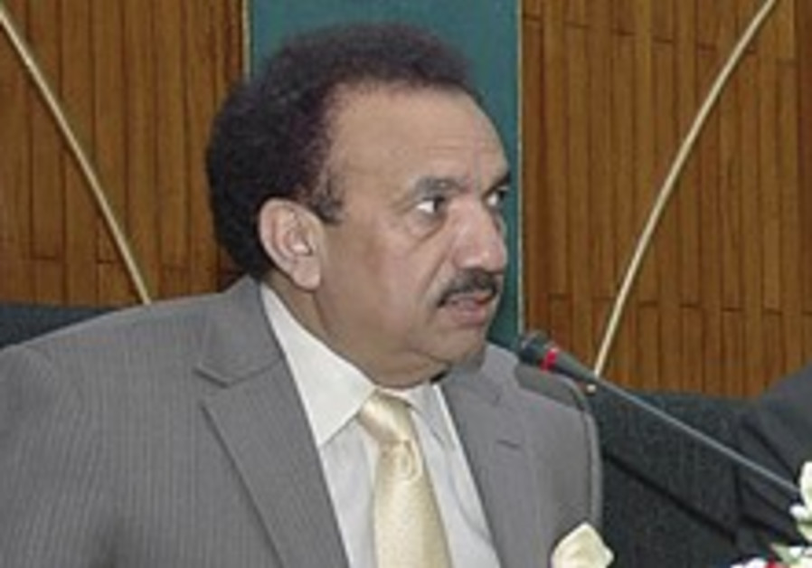 Pakistan official says country at war