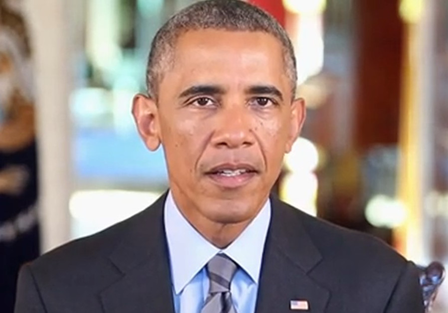 US President Barack Obama delivers Rosh Hashana message.
